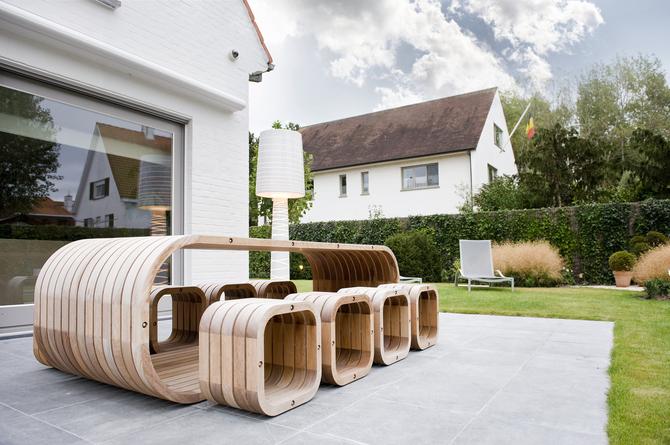 Studio verde berwout dochy tuinarchitect tuinarchitectuur landschapsarchitect - Tuin meubilair ...