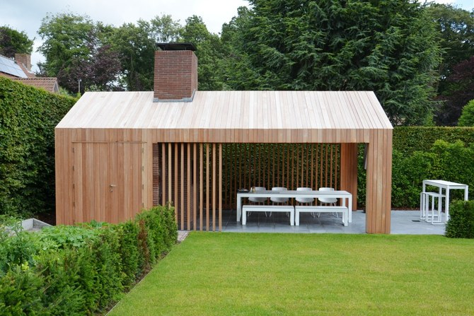 Studio verde berwout dochy tuinarchitect for Bijgebouw tuin